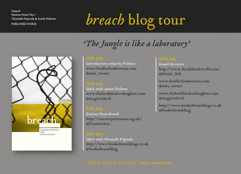 breach blog tour